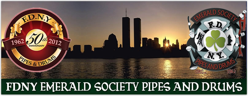 FDNY Emerald Society Pipes &amp; Drums