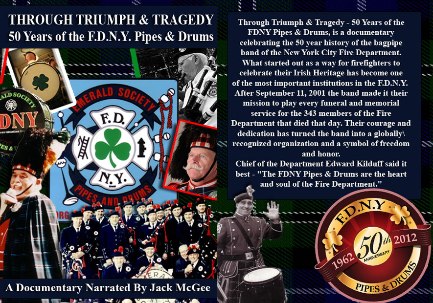Through Triumph & Tragedy - 50 Years of the FDNY Pipes & Drums